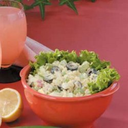 Rice 'n' Egg Salad recipe