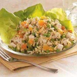 Chicken Rice Salad recipe