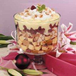 Raspberry Vanilla Trifle recipe