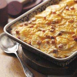 Scalloped Potatoes 'n' Ham Casserole recipe