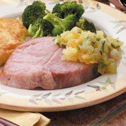 Ham with Pineapple Salsa recipe