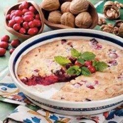 Cranberry Nut Dessert recipe