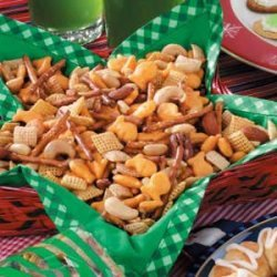Cajun Party Mix recipe
