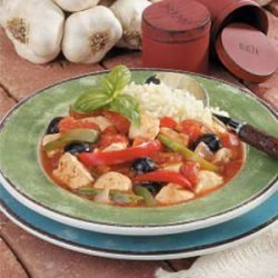 Mediterranean Chicken Stew recipe