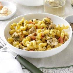Chicken Pesto with Pasta recipe