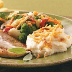Crunchy Mashed Potatoes recipe