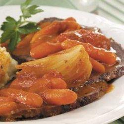 Grilled Sirloin Roast recipe
