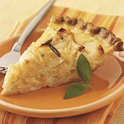 Sweet Onion Pie recipe