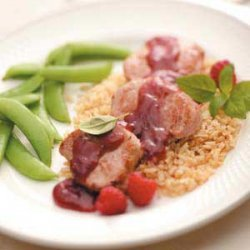 Pork Tenderloin with Fruit Sauce recipe