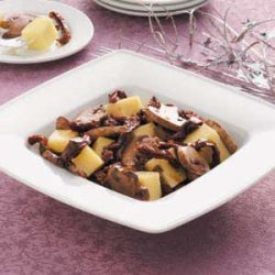 Marinated Mushrooms and Cheese recipe