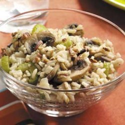 Rice and Mushrooms recipe