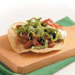 Kidney Bean Tostadas recipe