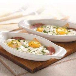 Eggs Lorraine recipe