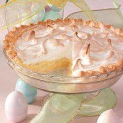 Pineapple Sour Cream Pie recipe