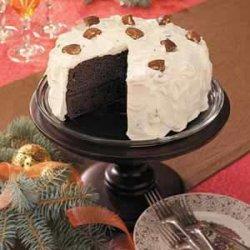Devil's Food Caramel Torte recipe