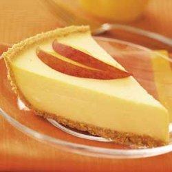 Peach Cheese Pie recipe