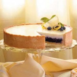 Blueberry Sour Cream Torte recipe