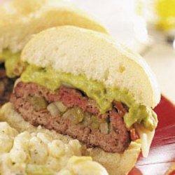 Guacamole Burgers recipe