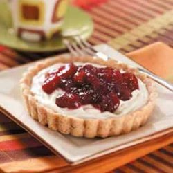 Cranberry Cheesecake Tartlets recipe