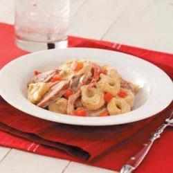 Kielbasa Tortellini Alfredo recipe