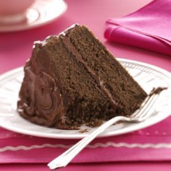 Devil's Food Cake with Chocolate Fudge Frosting recipe