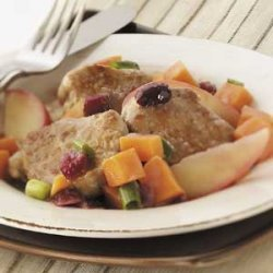 Pork with Sweet Potatoes recipe
