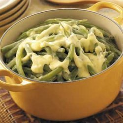 Green Beans in Lemon Chiffon Sauce recipe