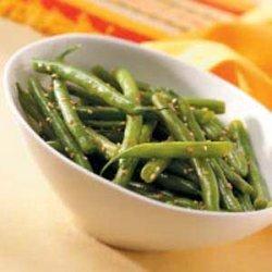 Sesame Green Bean Salad recipe