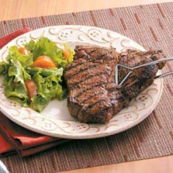 Seasoned T-Bones recipe