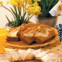 Cream Cheese Nut Bread recipe