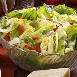 Simple Italian Tossed Salad recipe
