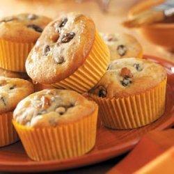 Rum Raisin Muffins recipe