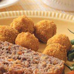 Parmesan Potato Balls recipe
