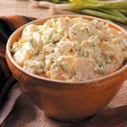 Sour Cream Potato Salad recipe