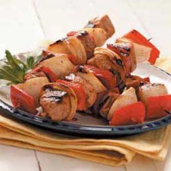 Asian Pork Kabobs recipe