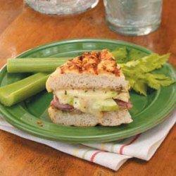 Apple 'n' Prosciutto Sandwiches recipe