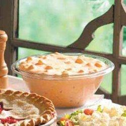 Creamy 'n' Fruity Gelatin Salad recipe