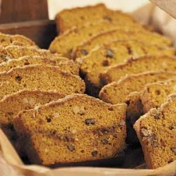 Pumpkin-Nut Bread recipe