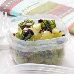Broccoli Grape Salad recipe