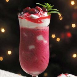 Cranberry Angel Parfaits recipe