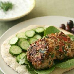 Greek Turkey Burgers recipe