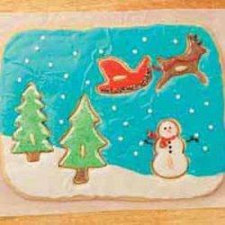 Santa's Coming Cookie Puzzle recipe