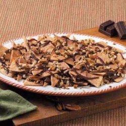 Cinnamon Chocolate Nachos recipe
