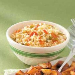 Roasted Vegetables with Orzo recipe
