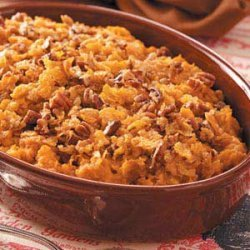 Crunchy Sweet Potato Bake recipe