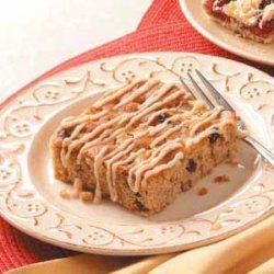 Iced Apple Snack Cake recipe