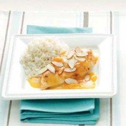Quick Apricot Almond Chicken recipe