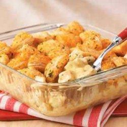 Biscuit Nugget Chicken Bake recipe