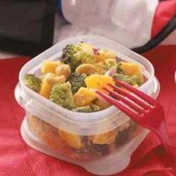 Tropical Broccoli Salad recipe