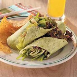 Zesty Vegetarian Wraps recipe